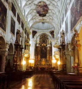 Favorite Churches Around the World St. Peter's Abbey Church Salzburg, Austria