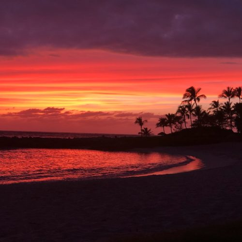 Watch the Sunset at the Ko Olina Lagoons