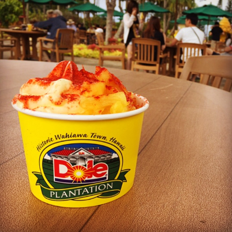 Devour a Dole Whip at the Dole Plantation