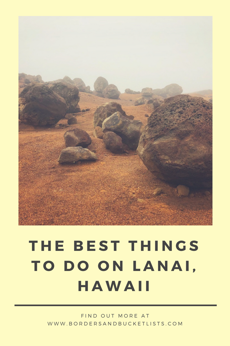 The Best Things to do on Lanai, Hawaii #lanai #lanaiisland #hawaii #lanaihawai #hawaiivacation