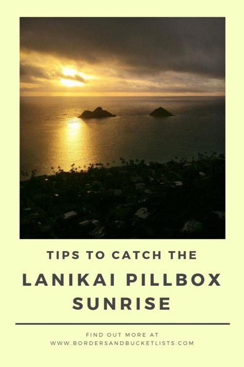 Lanikai Pillbox Hike Sunrise Pin #lanikai #lanikaipillbox #lanikaipillboxhike #hike #hawaii #oahu #oahuhike #sunrise #lanikaipillboxsunrise #hawaiisunrise