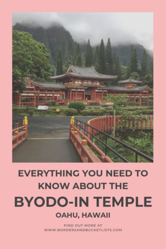 Everything to Know About the Byodo-In Temple #oahu #hawaii #byodoin #byodointemple
