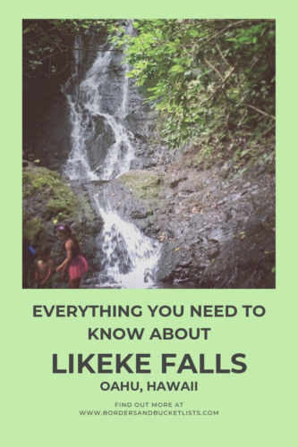 Everything to Know About Likeke Falls, Oahu, Hawaii #likekefalls #oahu #hawaii