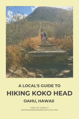 A Local's Guide to Hiking Koko Head Oahu, Hawaii #oahu #hawaii #hiking #oahuhike #kokohead