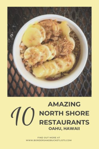 10 Amazing North Shore Restaurants, Oahu, Hawaii #oahu #hawaii #northshore #northshorerestaurants