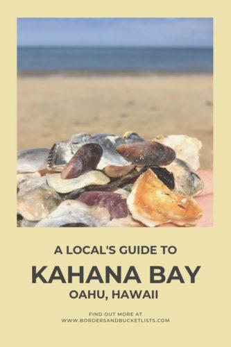 Local's Guide to Kahana Bay, Oahu, Hawaii #oahu #hawaii #hawaiibeach #kahanabay