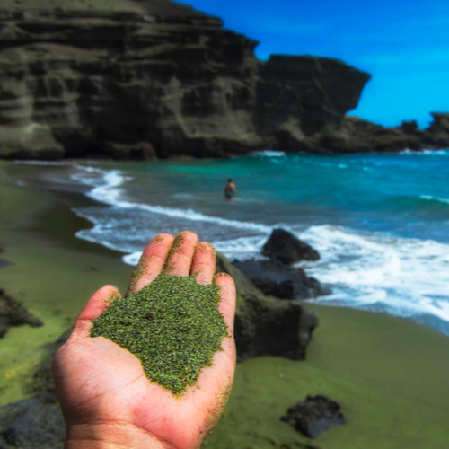 Green Sand Beach in Hawaii Opener