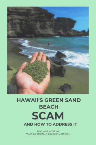 Hawaii's Green Sand Beach Scam, Big Island, Hawaii #greensandbeach #scam #hawaii #bigisland
