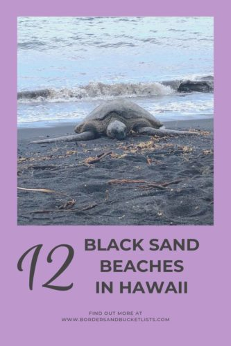 12 Black Sand Beaches in Hawaii