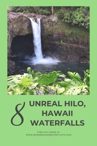 8 Unreal Hilo, Hawaii Waterfalls #hilo #hawaii #bigisland #kona #waterfalls