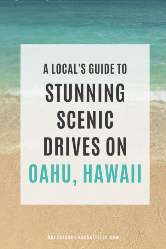 Local's Guide to Stunning Scenic Drives on Oahu, Hawaii #oahu #hawaii #scenicdrives #drives #views