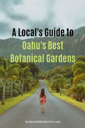 A Local's Guide to Oahu's Best Botanical Gardens #oahu #hawaii #hoomaluhia #localguide #gardens #botanicalgardens