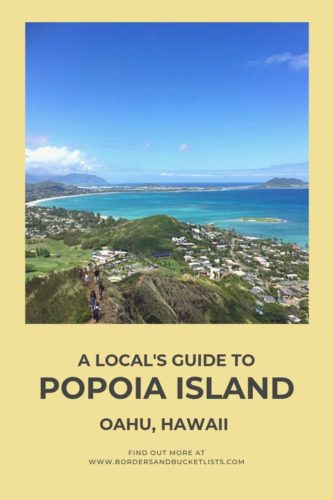 A Local's Guide to Popoia Island, Oahu, Hawaii #oahu #hawaii #kailua #popoiaisland