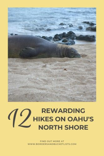 12 Rewarding Hikes on Oahu's North Shore #oahu #hawaii #northshore #hiking