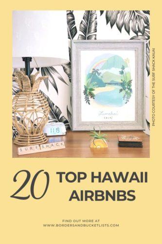 20 Top Hawaii Airbnbs #airbnb #hawaii #oahu #kauai #maui #bigisland