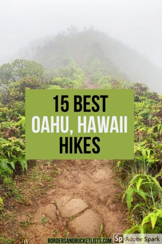 Best hikes on oahu hawaii, oahu hikes, hawaii hikes, best oahu hikes, best hawaii hikes, best things to do on oahu, oahu travel tips, honolulu hikes, waikiki hikes, hawaii travel tips, planning a trip to hawaii, planning a trip to oahu #oahu #hawaii #hikes #hawaiihikes #oahuhikes
