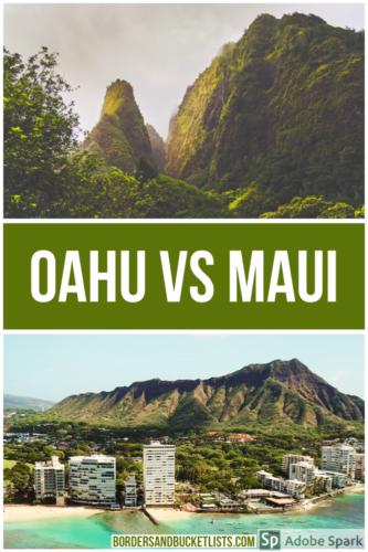 Maui vs Oahu, Oahu vs Maui, things to do on Maui, things to do on Maui, best Hawaiian Island, which Hawaiian Island is best #maui #oahu #hawaii #mauivsoahu #oahuvsmaui