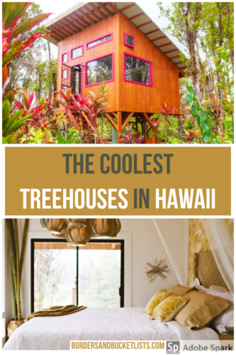 treehouses in Hawaii, hawaii treehouse, hawaii treehouse hotel, tropical treehouse hawaii, where to stay in hawaii, hawaii airbnb, treehouse ideas, treehouse hotel, treehouse to live in, stay in a treehouse #treehouse #hawaii