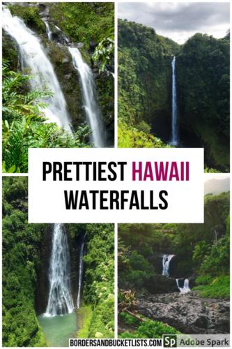 Hawaii waterfalls, best hawaii waterfalls, things to do in hawaii, waterfalls in hawaii, waterfalls in honolulu, maui waterfalls, oahu waterfalls, big island waterfalls, kauai waterfalls #hawaii #waterfall