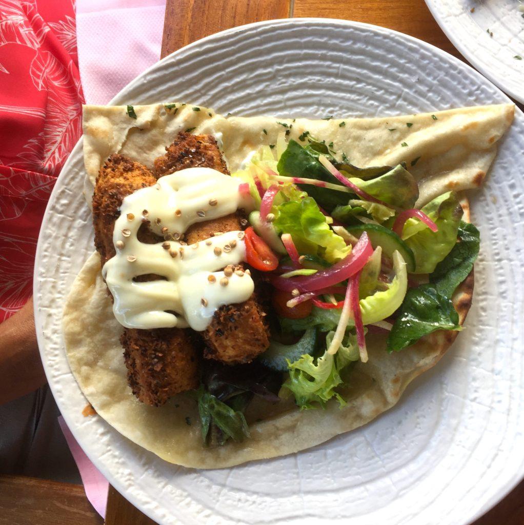 fish lafa wrap Ko Olina restaurants