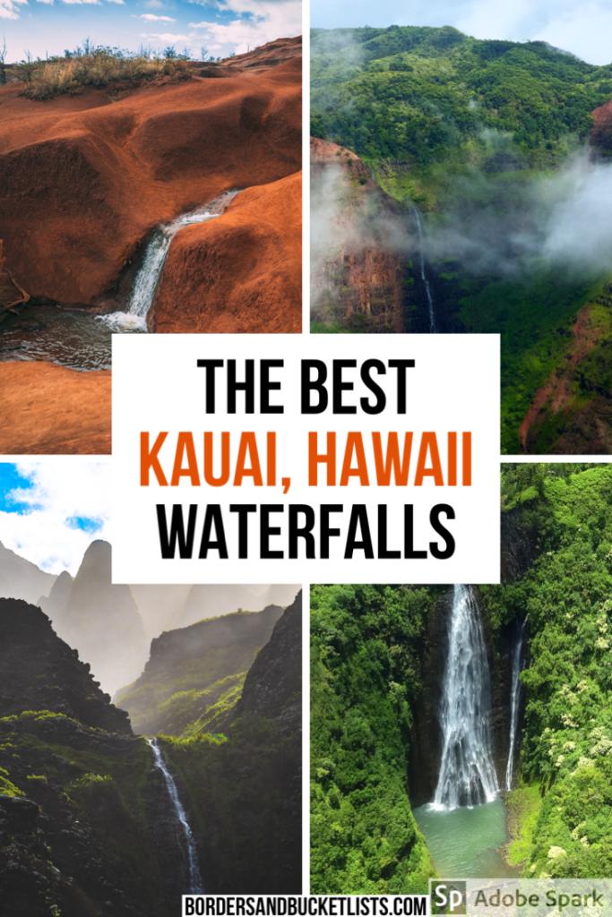 kauai waterfalls, kauai waterfall hikes, kauai hawaii, things to do on kauai, kauai hawaii waterfalls, kauai hikes waterfalls, waterfalls in kauai, red dirt waterfall kauai, best waterfalls kauai, best waterfalls in kauai, kauai hawaii things to do in, kauai hawaii hikes, kauai hawaii hiking, kauai hawaii waterfalls #kauai #hawaii #hawaiiwaterfalls
