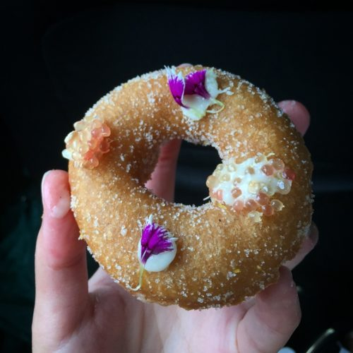 fancy taro donut desserts in Hawaii