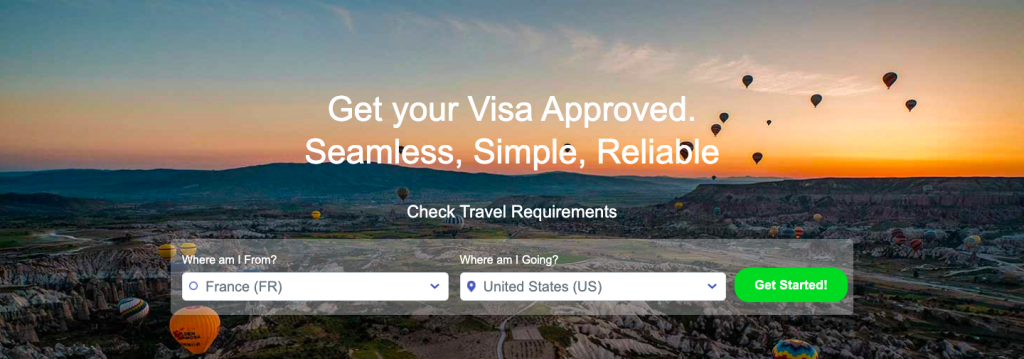 iVisa website