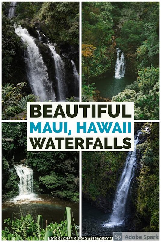 Maui waterfalls, best Maui waterfalls, waterfalls on Maui, waterfalls in Maui, best waterfalls on Maui, best waterfalls in Maui, Hawaii waterfalls, waterfalls in Hawaii, best Hawaii waterfalls, best waterfalls in Hawaii, Maui waterfalls swim, Maui waterfalls with kids, road to Hana Maui waterfalls, maui hikes waterfalls, maui waterfall hikes, Hawaii waterfall hikes, hikes in Maui waterfalls, hikes in Hawaii waterfalls, things to do on Maui, things to do in Hana, road to Hana stops, road to Hana, where to stop on the road to Hana #maui #hawaii #waterfalls