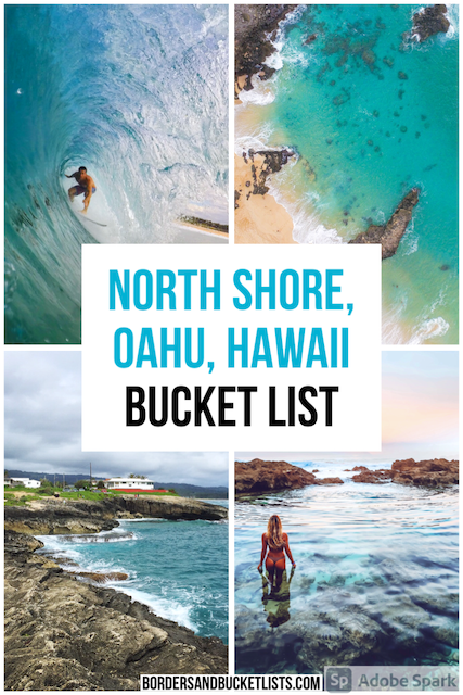 40 Best Things to Do on the North Shore, Oahu, Hawaii | Borders & Bucket Lists things to do on the north shore, things to do on oahu, things to do in hawaii, north shore oahu hawaii bucket list, north shore bucket list, oahu bucket list, north shore oahu things to do, things to do in the north shore oahu, things to do in the north shore, north shore oahu, north shore oahu food, north shore oahu hikes, north shore oahu beaches, haleiwa hawaii, waimea bay, haleiwa #northshore #oahu #hawaii