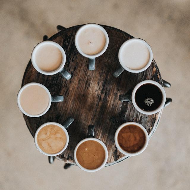 circle of coffee variations best Hawaii coffee companies