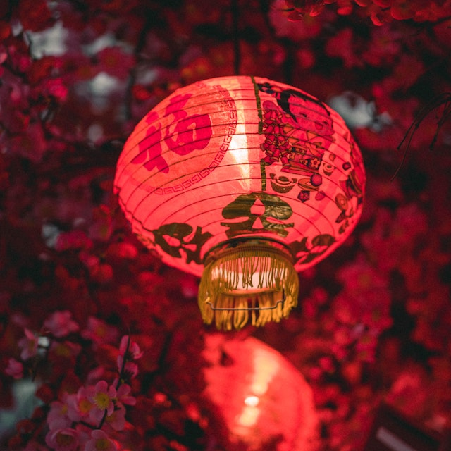 Chinese New Years lanterns in Hawaii